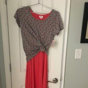NEW 🔥 LuLaRoe Carley dress & classic tee set!